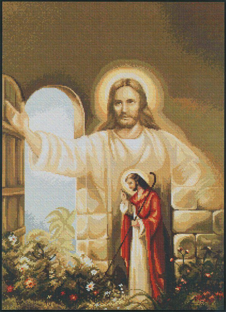 Иисус стучит тихонько в