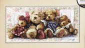 Семья медвежат
