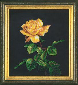 Золотая роза Б-714. Вышивка бисером d35817c6fe4f9