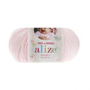 BABY WOOL 184 - Пряжа Alize BABY WOOL 184