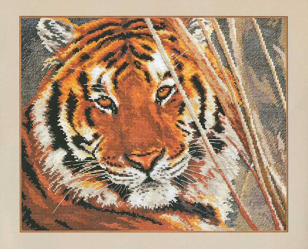 тигр алиса вышивка