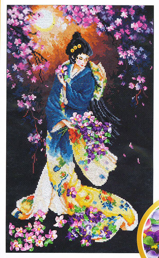 Китайские картинки красивые бисером
