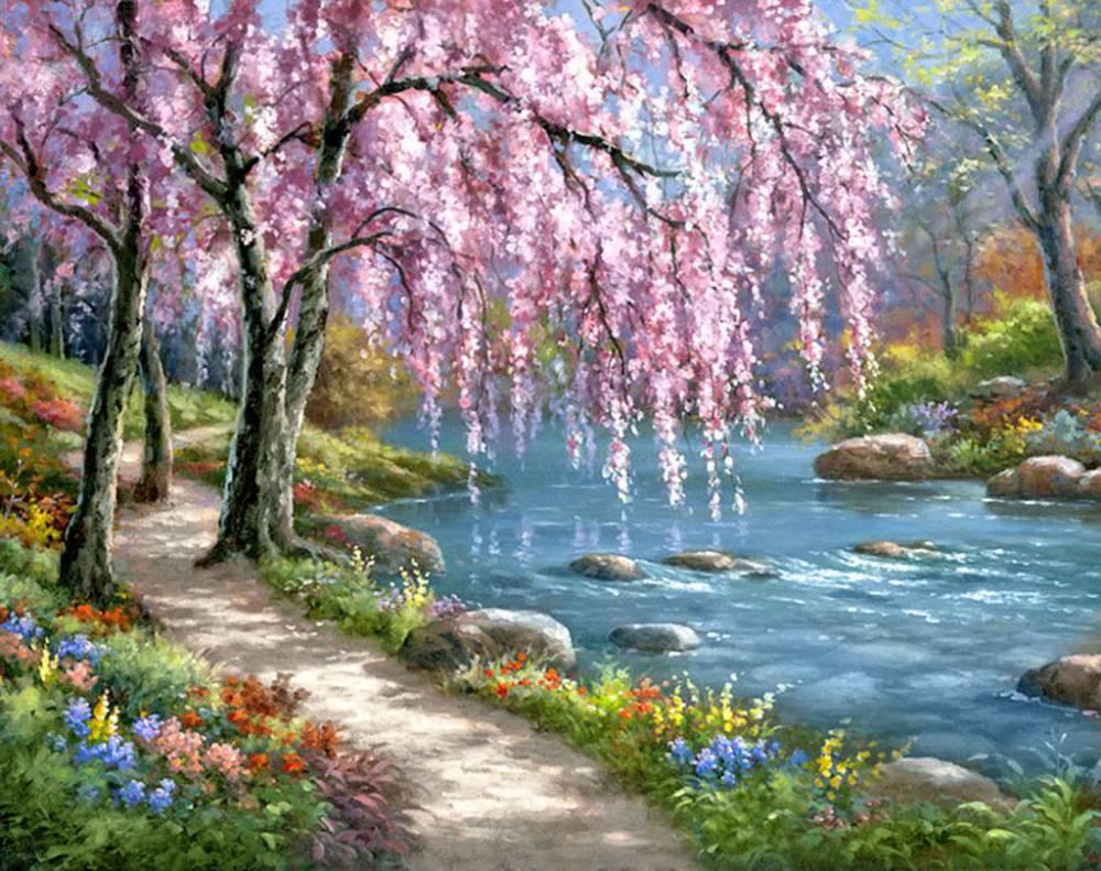 весна картинка пейзаж самым востребованным