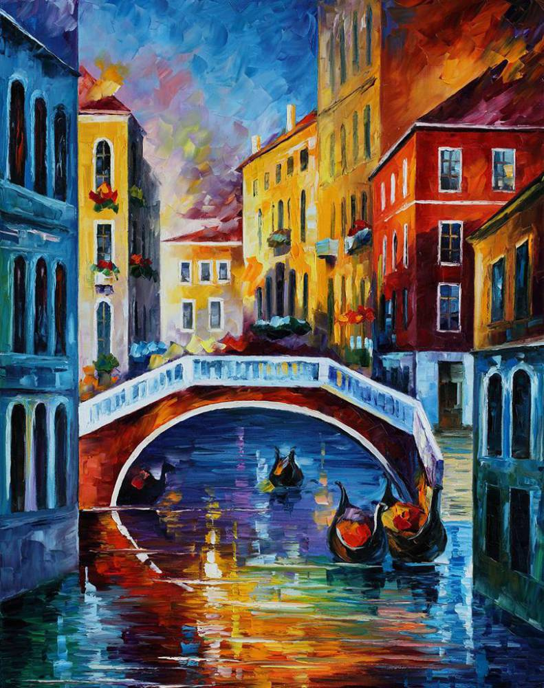 картинки города красками это обязательный элемент